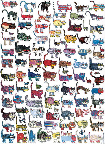 100 Cats and a Mouse -  Vittorio - McGaw Graphics