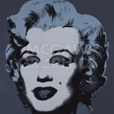 Marilyn Monroe (Marilyn), 1967 (black) -  Andy Warhol - McGaw Graphics