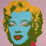 Marilyn Monroe (Marilyn), 1967 (pale pink) -  Andy Warhol - McGaw Graphics