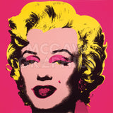 Marilyn Monroe (Marilyn), 1967 (hot pink) -  Andy Warhol - McGaw Graphics