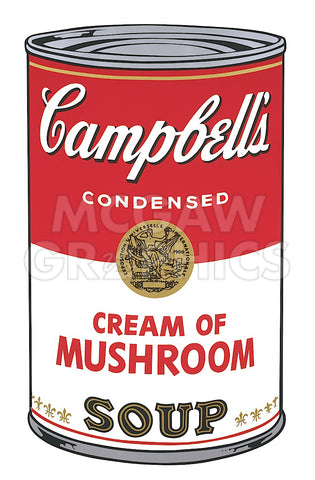 Andy Warhol - Campbell's Soup I: Cream of Mushroom, 1968