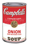 Campbell's Soup I:  Onion, 1968 -  Andy Warhol - McGaw Graphics