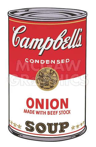 Andy Warhol - Campbell's Soup I:  Onion, 1968