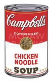 Campbell's Soup I:  Chicken Noodle, 1968 -  Andy Warhol - McGaw Graphics