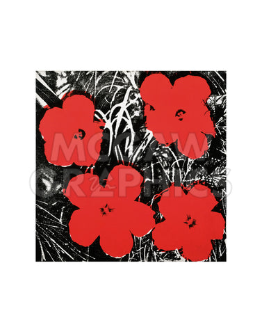 Flowers (Red), 1964 -  Andy Warhol - McGaw Graphics