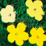Flowers, 1970 (4 yellow) -  Andy Warhol - McGaw Graphics