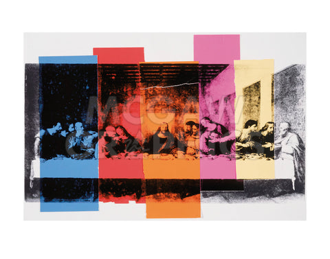 Detail of The Last Supper, 1986 -  Andy Warhol - McGaw Graphics