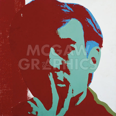 Self-Portrait, 1967 (red) -  Andy Warhol - McGaw Graphics