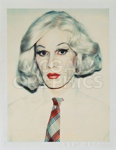 Andy Warhol in Drag, 1981 -  Andy Warhol - McGaw Graphics