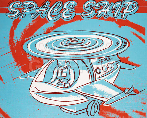 Space Ship, 1983 -  Andy Warhol - McGaw Graphics
