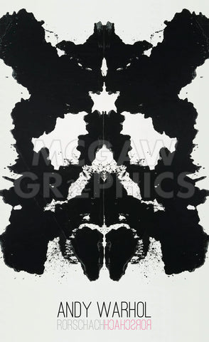 Rorschach, 1984 -  Andy Warhol - McGaw Graphics