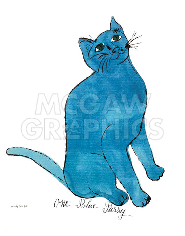 "Cat From ""25 Cats Named Sam and One Blue Pussy"", c. 1954  (One Blue Pussy)"