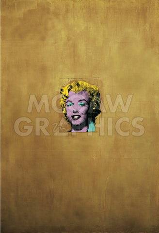 Andy Warhol - Gold Marilyn Monroe, 1962