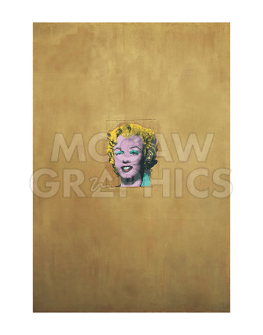 Gold Marilyn Monroe, 1962 -  Andy Warhol - McGaw Graphics