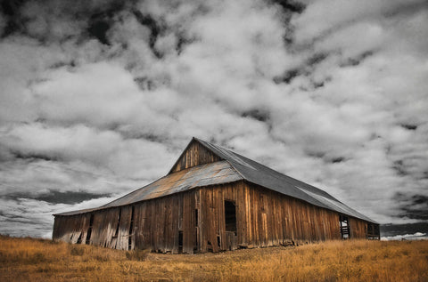 Siskiyou County Barn -  David Lorenz Winston - McGaw Graphics