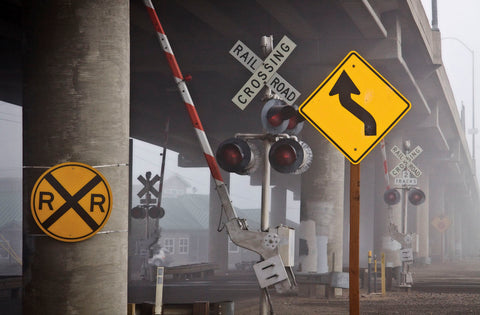 Railroad Crossing -  David Lorenz Winston - McGaw Graphics
