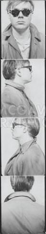 Self Portrait, 1963 (photobooth) -  Andy Warhol - McGaw Graphics