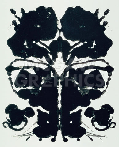 Rorschach, 1984 (3) -  Andy Warhol - McGaw Graphics