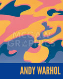 Camouflage, 1987 (pink, purple, orange) -  Andy Warhol - McGaw Graphics