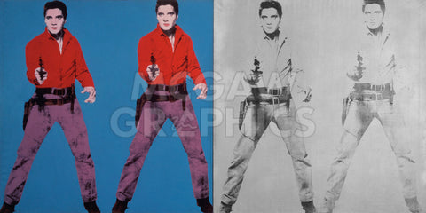 Elvis I and II, 1963-1964 -  Andy Warhol - McGaw Graphics