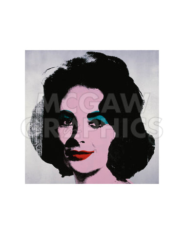 Liz, 1963 -  Andy Warhol - McGaw Graphics