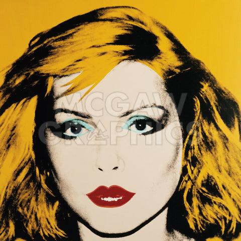 Debbie Harry, 1980 -  Andy Warhol - McGaw Graphics
