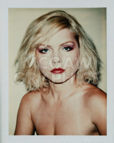 Harry, Debbie 1980 (Polaroid) -  Andy Warhol - McGaw Graphics
