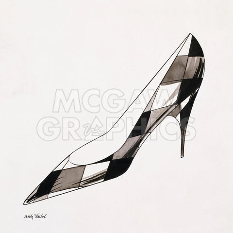 Untitled (High Heel), c. 1958 -  Andy Warhol - McGaw Graphics