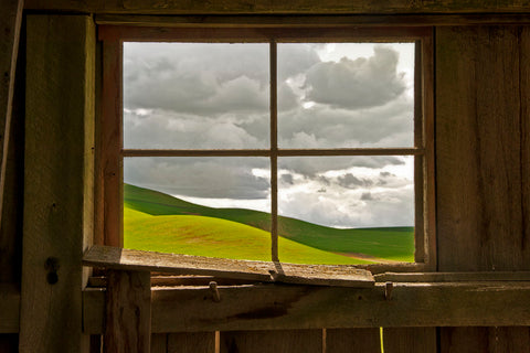 David Lorenz Winston - Palouse Barn