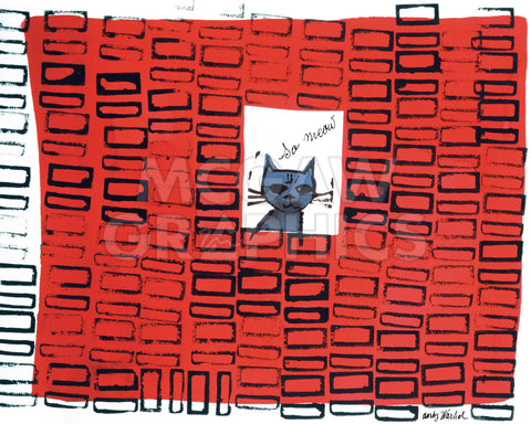 So Meow, c. 1958 -  Andy Warhol - McGaw Graphics