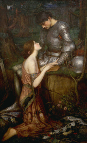 Lamia -  J.W. Waterhouse - McGaw Graphics