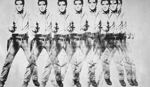Andy Warhol - Eight Elvis, 1963