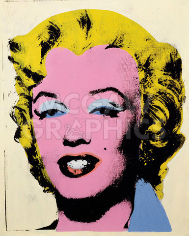 Andy Warhol - Lemon Marilyn, 1962