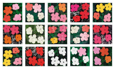 Flowers (various), 1964 - 1970 -  Andy Warhol - McGaw Graphics