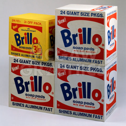 Brillo Boxes, 1963-1964 -  Andy Warhol - McGaw Graphics