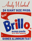 Brillo Box (detail), 1964 -  Andy Warhol - McGaw Graphics