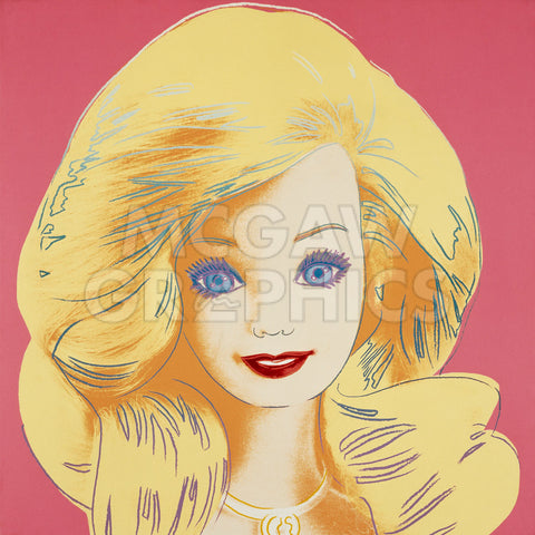 Barbie, 1986 -  Andy Warhol - McGaw Graphics