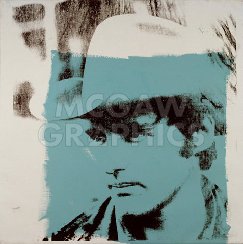 Dennis Hopper, 1970 -  Andy Warhol - McGaw Graphics