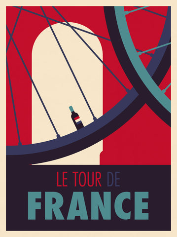 Tour de France -  Spencer Wilson - McGaw Graphics