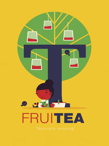 Fruitea -  Spencer Wilson - McGaw Graphics