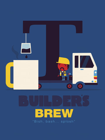 Builders Brew -  Spencer Wilson - McGaw Graphics