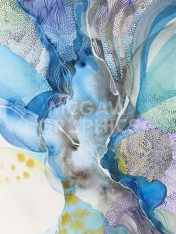 Water Series in The Flow -  Helen Wells - McGaw Graphics