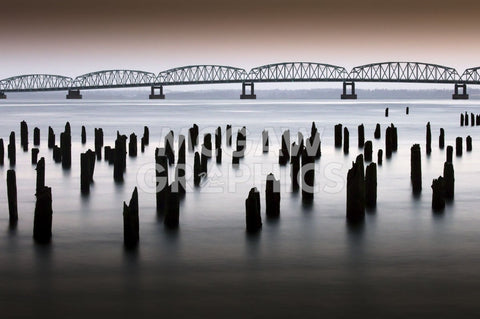 Astoria-Meglar Bridge -  Art Wolfe - McGaw Graphics