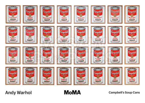 Campbell's Soup Cans, 1962 -  Andy Warhol - McGaw Graphics