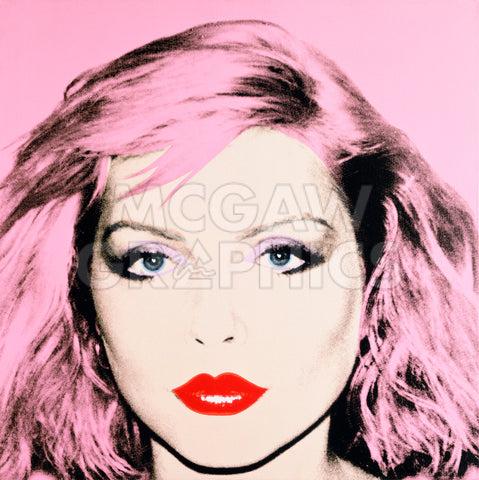 Debbie Harry, 1980 (pink) -  Andy Warhol - McGaw Graphics