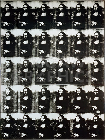 Thirty Are Better Than One, 1963 -  Andy Warhol - McGaw Graphics