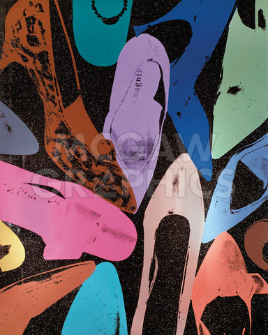Diamond Dust Shoes (Random), 1980 -  Andy Warhol - McGaw Graphics