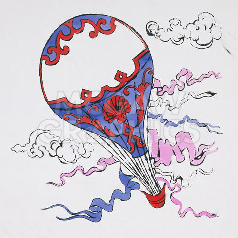 Hot Air Balloon, c. 1958 -  Andy Warhol - McGaw Graphics