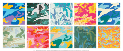 Camouflage, 1987 -  Andy Warhol - McGaw Graphics