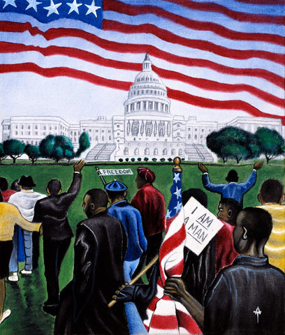 1963 March on Washington -  Wind River Studios - McGaw Graphics